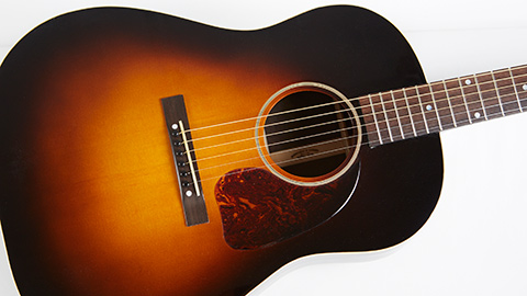 Gibson custom banner j-45 with brazilian rosewood back and sides Bagnasco & Casati